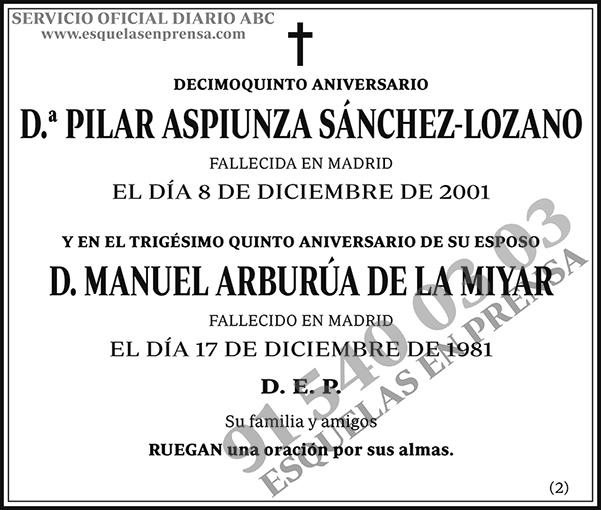 Pilar Aspiunza Sánchez-Lozano